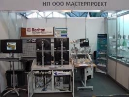 Стол оператора на выставке TIBO'2012
