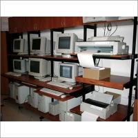 Аппаратная стойка отдела автоматизации филиала банка