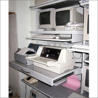 Аппаратная стойка отдела автоматизации банка